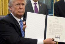 Trump suspende la disminución de la tasa de seguro hipotecario